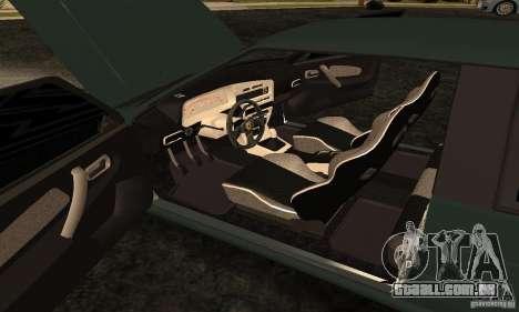 VAZ 2113 Ferrari para GTA San Andreas vista interior