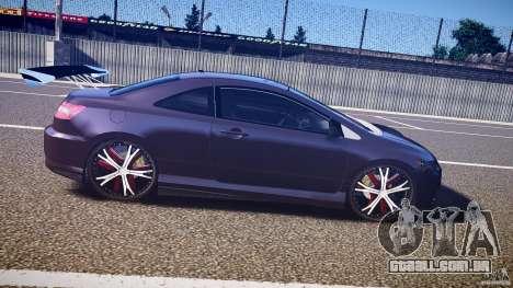 Honda Civic Si Tuning para GTA 4 vista interior