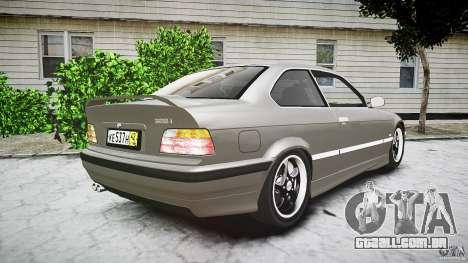 BMW E36 328i v2.0 para GTA 4 vista lateral
