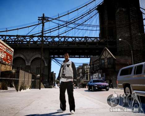 Niko - Cj para GTA 4 por diante tela