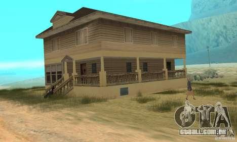 Área no deserto para GTA San Andreas por diante tela