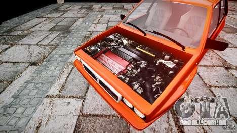 Lancia Delta HF 4WD para GTA 4 vista direita