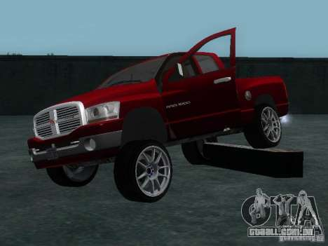 Dodge Ram 1500 v2 para vista lateral GTA San Andreas