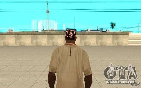 Super-homem bandana para GTA San Andreas terceira tela