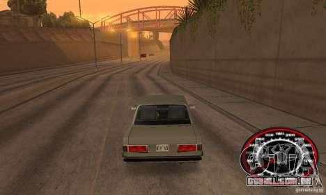 Speedo Skinpack FLAMES para GTA San Andreas terceira tela