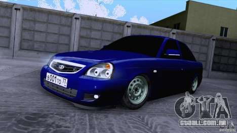 LADA 2170 VIP para GTA San Andreas