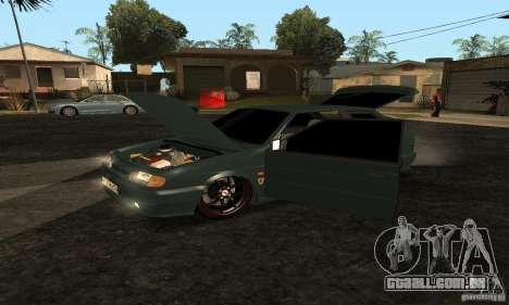 VAZ 2113 Ferrari para GTA San Andreas vista direita
