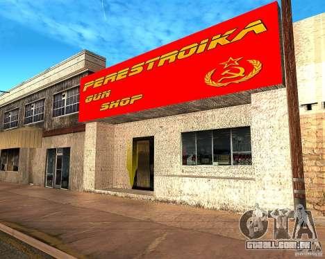 Armazena a reestruturação para GTA San Andreas