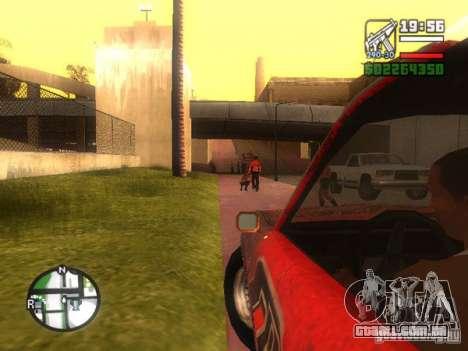 Lâmina de FlatOut para GTA San Andreas vista traseira