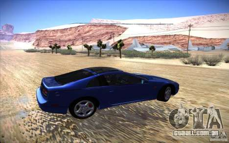 Nissan 300ZX Twin Turbo para GTA San Andreas vista traseira