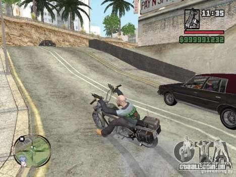 Vagos Biker para GTA San Andreas segunda tela