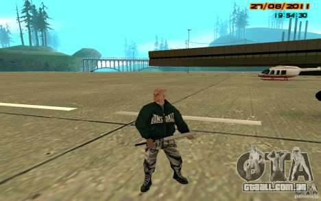 SkinHeads Pack para GTA San Andreas terceira tela