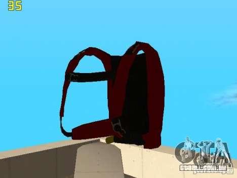 Saltar de paraquedas de TBOGT v2 para GTA San Andreas quinto tela
