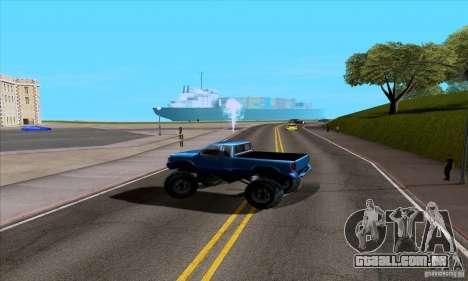 ENB Series v1.4 Realistic for sa-mp para GTA San Andreas por diante tela