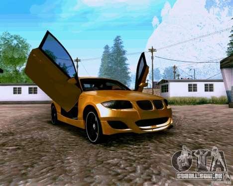 BMW 135 Tuning para GTA San Andreas vista direita