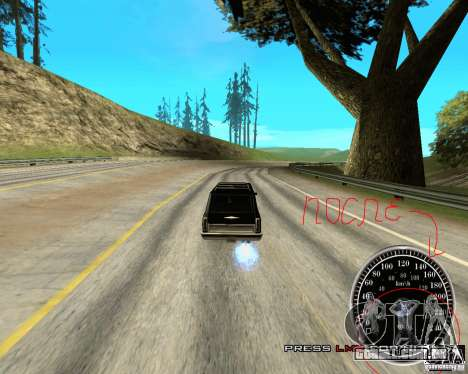 Perenniel Speed Mod para GTA San Andreas terceira tela