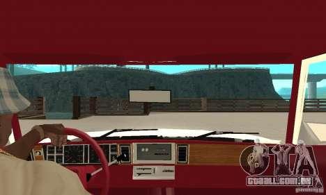 Dodge Aries 1983 para GTA San Andreas vista direita