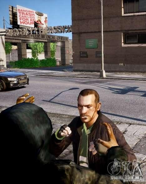Bad Niko para GTA 4 oitavo tela
