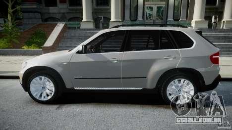 BMW X5 Experience Version 2009 Wheels 223M para GTA 4 esquerda vista