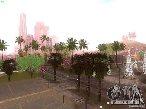 Spring Season v2 para GTA San Andreas por diante tela
