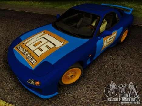 Mazda RX7 Nos para GTA San Andreas