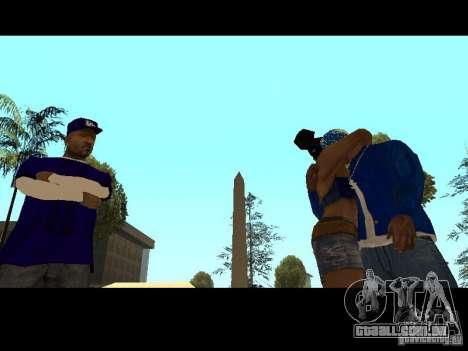 Piru Street Crips para GTA San Andreas décimo tela