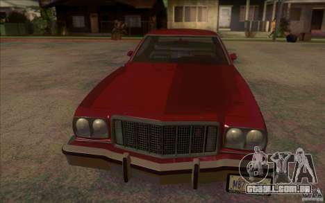 Ford Torino para GTA San Andreas esquerda vista