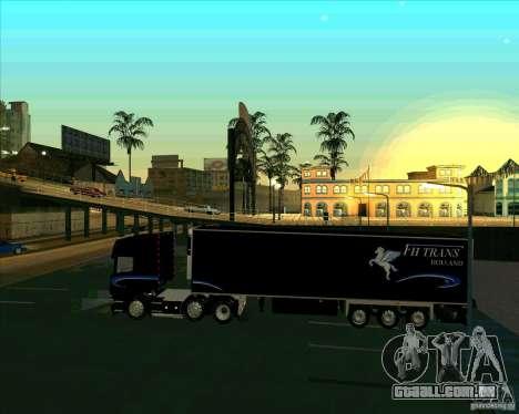 Scania R620 Pimped para GTA San Andreas esquerda vista