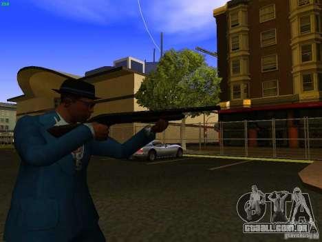 Remington 870 Action Express para GTA San Andreas por diante tela