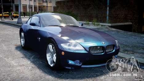 BMW Z4 V3.0 Tunable para GTA 4 vista de volta