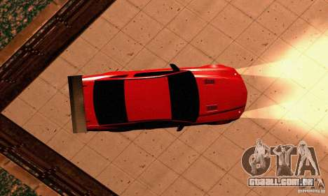 Shelby GT500 KR para vista lateral GTA San Andreas