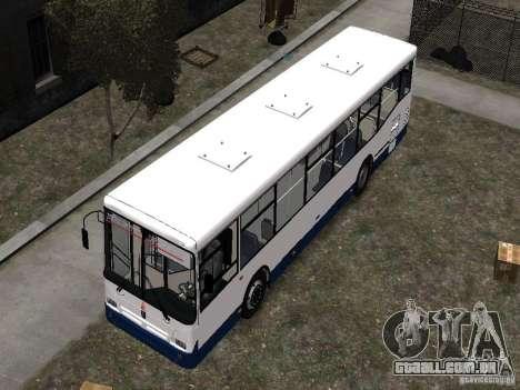 Nefaz-5299 10-15 para GTA 4 vista superior