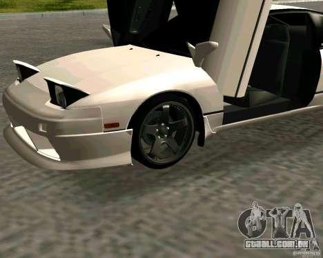 Nissan 240SX S13 para GTA San Andreas vista direita