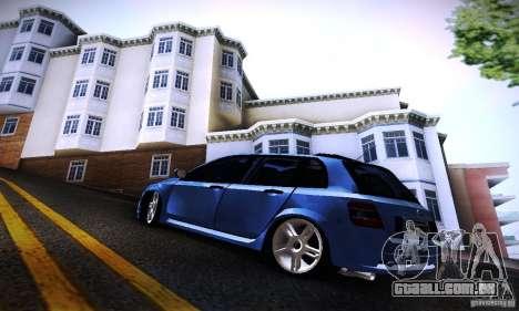 Fiat Stilo Abarth 2005 para GTA San Andreas esquerda vista