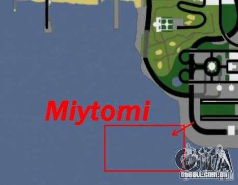 Miytomi para GTA San Andreas quinto tela