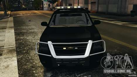 Chevrolet Avalanche 2007 [ELS] para GTA 4 vista inferior