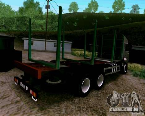 KAMAZ 65117 para GTA San Andreas esquerda vista