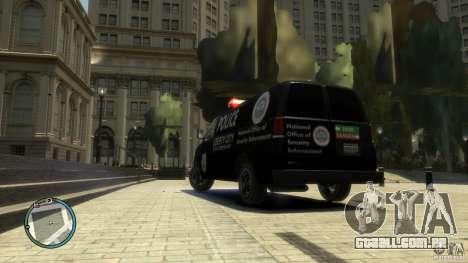 Noose Van V3 para GTA 4 esquerda vista