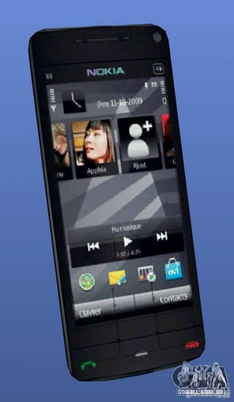 Telemóvel Nokia X6 para GTA 4
