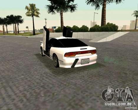 Nissan 240SX S13 para GTA San Andreas esquerda vista