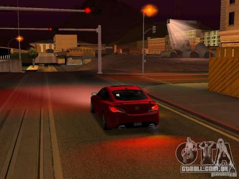 Hyundai Genesis Coupé 3.8 Track v 1.0 para o motor de GTA San Andreas