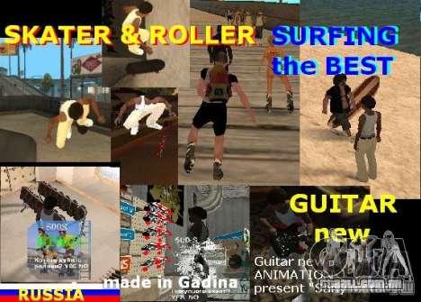 GTA SA SIMS real para GTA San Andreas segunda tela