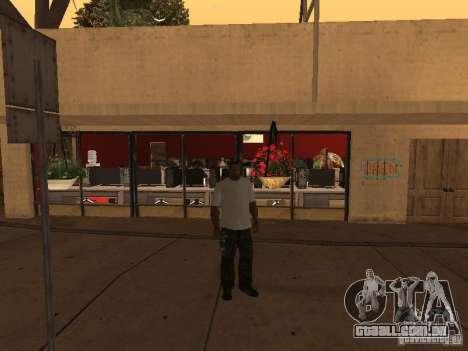 Ganton Cyber Cafe Mod v1.0 para GTA San Andreas