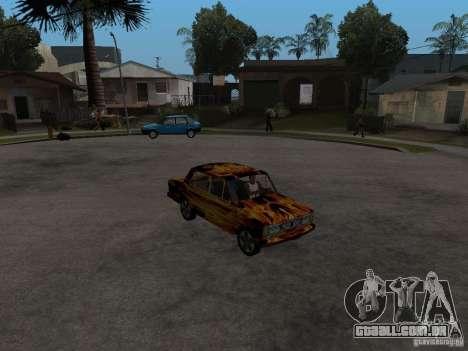 2106 VAZ do jogo STALKER para GTA San Andreas vista direita