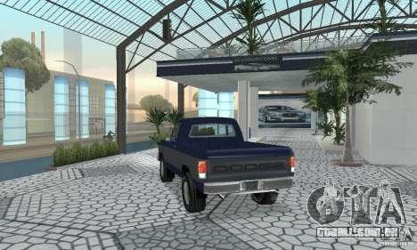 Dodge Prospector 1984 para GTA San Andreas esquerda vista