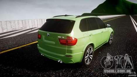 BMW X5 M-Power para GTA 4 vista lateral