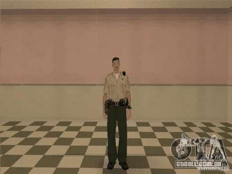 Los Angeles Police Department para GTA San Andreas segunda tela