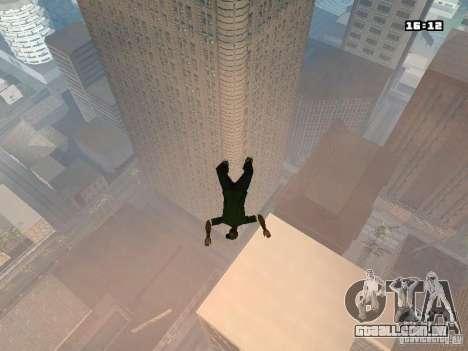 Parkour Mod para GTA San Andreas quinto tela