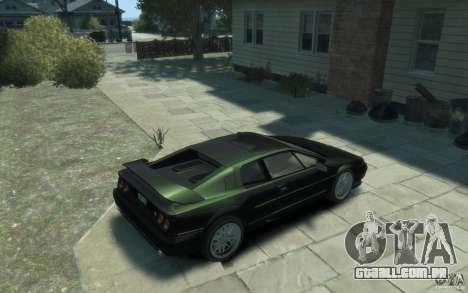 Lotus Esprit V8 para GTA 4 vista direita