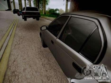 Toyota Corolla para GTA San Andreas vista superior